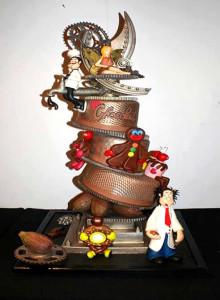 Bolo vencedor, 1º Prémio do Concurso Cake Design - Festival do chocolate 2013