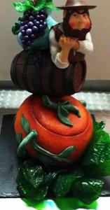 1º lugar cake design 2013