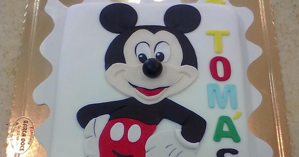 Bolo de Aniversário Mickey mouse